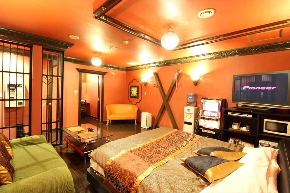 福生ラブホテル バリタイ 12号室